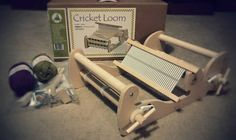 Cricket Rigid Heddle Loom, 10 Inch Schacht Loom, Compact Loom, Tabletop Loom, Weaving, Fully Assembled, Portable, American Made by PhoenixFarmFiber on Etsy