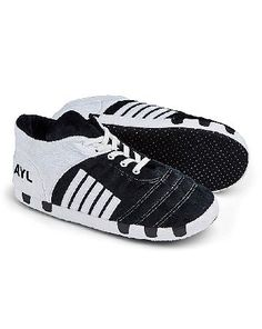 The Brilliant Gift Shop Personalised Slipper Football Boots Personalise with up to 3 characters. http://www.MightGet.com/january-2017-13/the-brilliant-gift-shop-personalised-slipper-football-boots.asp