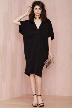 Nasty Gal All of the Night Caftan Dress - Going Out Lbd Dress, Caftan Dress, Lolita Dress, Long Summer Dresses, Simple Dresses, Look Fashion, Fashion Outfits, Womens Fashion, Emo Outfits