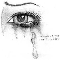crying sad eye drawing eyes drawings sketch sketches cry cool deviantart