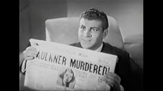 """ROBERT PRESTON: """"THE NIGHT OF JANUARY 16TH"""" (1941)American film directed by William Clemens, based on a play of the same name by Ayn Rand. The story follows Steve Van Ruyle and Kit Lane as they investigate the apparent murder of Lane's boss, in an attempt to clear her as a suspect."""