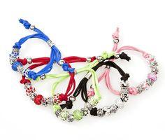 Armband-Set Metallelemente265302blau,rot,grün,rosa,schwarz,Armband,Schmuck,Kette