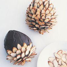 Glaseado de chocolate para pastel de piña