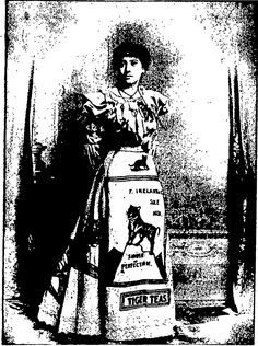 Poster ball costume advertising Tiger Tea at Palmerston North Poster ball. Otago Witness, 24 September Page 37 24 September, New Zealand, Balls, Advertising, Darth Vader, Costumes, Poster, Photography, Fictional Characters