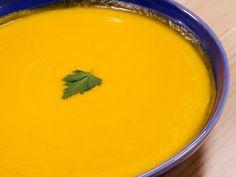 Cream soup of potimarron and potatoes - Recette - Cream Soup Recipes, Mexican Soup Recipes, Healthy Soup Recipes, Vegan Recipes, Quick Dessert Recipes, Quick Easy Desserts, Easy Dinner Recipes, Easy Meals, Creme Fraiche