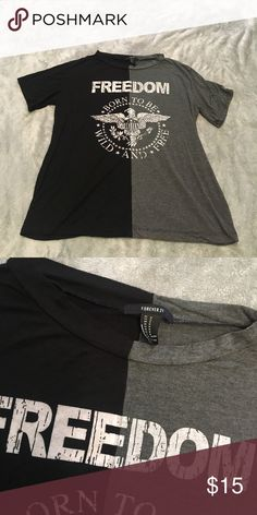 Tee shirt Perfect condition. New without tags. Forever 21 Tops Tees - Short Sleeve