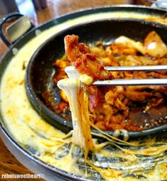 The Rebel Sweetheart.: Foodie Goodie   Yoogane Chicken Galbi.