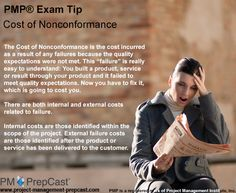 #PMP Exam Tip: Cost of Nonconformance