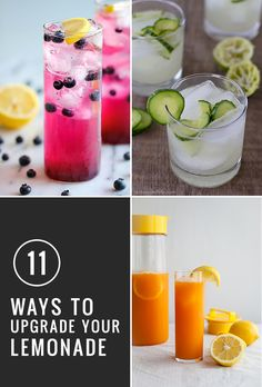 11 Ways to Upgrade Your Lemonade Recipes