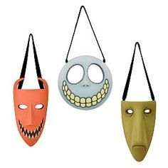 Lock, Shock, and Barrel Masks.