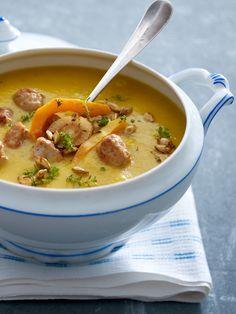 Löffel für Löffel ein GenussEine Kürbissuppe sieht toll aus und schmeckt auch so. Klassisch als Kürbiscremesuppe oder exotisch mit Ingwer