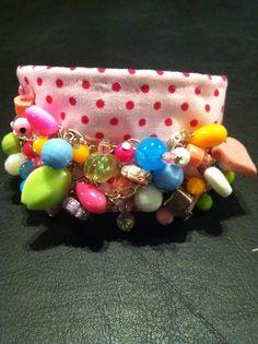 Fabric cuff Handmade by My Fairy Cakes