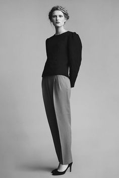 so chic & tailored - Zofia Chylak as featured on Miss Moss