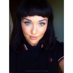 #terracegirls #fredperry Fred Perry, Sergio Tacchini, Skinhead Girl, Polo Outfit, Mod Girl, Mod Fashion, Punk Rock, Girl Crushes, Pin Up