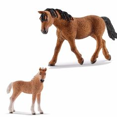 schleich family horse | SCHLEICH World of Nature Farm Life HORSE Families - Choice of 20 all ...