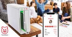 Order TechDen today if you're ready for less clutter and more family time. The smart charging station and screen time app limits screen time to help take device breaks. Our Kids, My Children, Screen Time For Kids, Social Media Outlets, Water Play, Ways To Relax, Enter To Win, Child Development, Toddler Activities