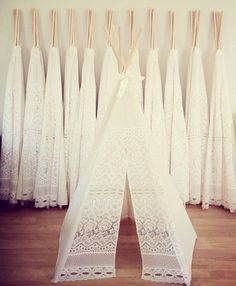 mini lace teepees