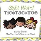 This packet contains 30 Sight Word Tic Tac Toe boards of Dolch Sight Words! Great for differentiation and small group instruction! ...$