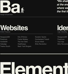 Typography is the foundation of the web