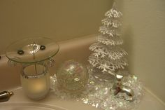 9 Best Silver And White Bathroom For Christmas Images Christmas