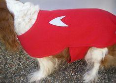 Dog Star Trek Coat Jacket Scotty Red Shirt L Pet Costume Halloween Fleece #Handmade