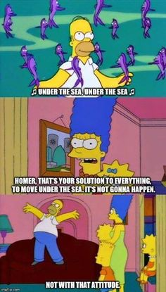 Homer knows what's up
