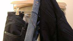 Jeanshosen Überlänge Damen. Im Laden um die Ecke in Hannover gibt es Jeanshosen für große Mädels in Überlänge.