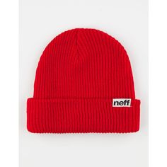 Neff Fold Mens Beanie ($15) ❤ liked on Polyvore featuring men's fashion, men's accessories, men's hats, hats, beanies, red, mens hats, mens beanie caps, mens beanie hats and mens red hats