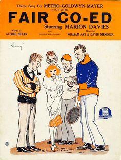 'The Fair Co-Ed' (1927) ...