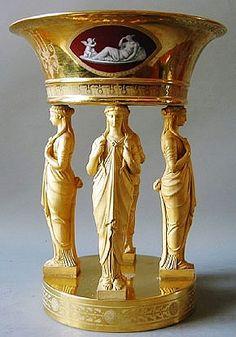 Empire dessert service, 1811-13. Dihl & Guerard. Paris.