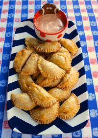 Plain Chicken: Buffalo Chicken Empanadas {Football Friday}