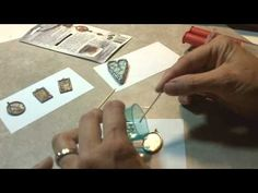 How to fill pendants with resin