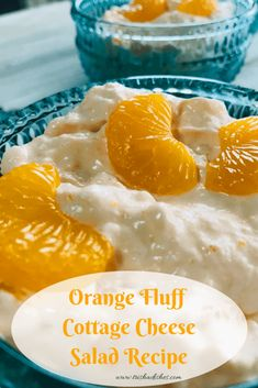 Have you tried this Orange Fluff Cottage Cheese Salad Recipe? It is a fabulous light dessert for brunch, holidays, picnics, barbecues, or just snacking. Jello Desserts, Jello Recipes, Light Desserts, Salad Recipes, Potluck Recipes, Fudge Recipes, Family Recipes, Jello Cottage Cheese Salad, Cottage Cheese Desserts