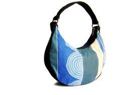Tatu Hobo Bag in Ocean Blue
