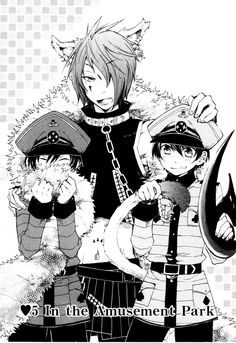 alice in the country of hearts - Boris and the bloody twins, such a cute trio couldn't be trouble right?
