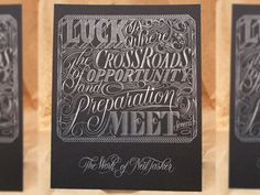 Luckprint - Neil Tasker