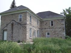 Abandoned Stone House near Guelph Ontario, Canada All credit goes to ~ Phrenzee From Picasa
