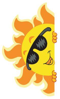 Summer fun clip art free fresh cartoon summer fun vector illustration 03 smileys or music clipart