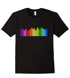 Super fun music sound bars tee! Available for sale on Amazon!: https://www.amazon.com/dp/B01BFRJ2ZA Available in Women's, Men's, & Youth Sizes!