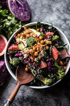 The Mean Green Detox Salad by halfbakedharvest #Salad #Detox #Healthy