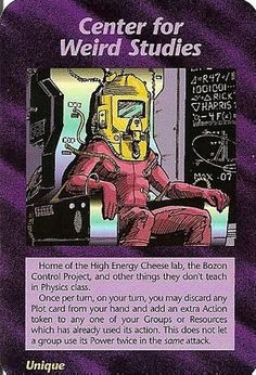 Illuminati Card Game - Center for Weird Studies