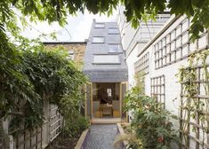 Alma-nac's Slim House extension brings sunlight into a narrow home in London