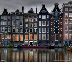 Amsterdam - would love to visit this wonderful place one day