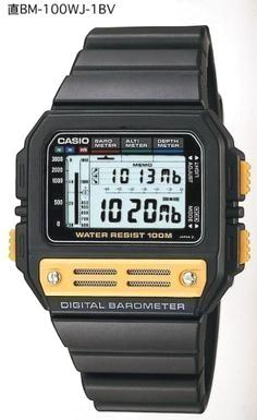 Whether it be general performance or looks, Casio Watches already have it all. Once you discover exactly what you're looking for, some online detective work using the web will help you locate the best promotions. Casio Vintage Watch, Seiko Vintage, Casio Watch, Retro Watches, Vintage Watches, Cool Watches, Watches For Men, Cheap Watches, Wrist Watches