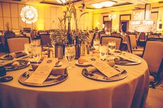 Event produced by Kapture Vision. table setting, Campout Dinner, lighting, rustic