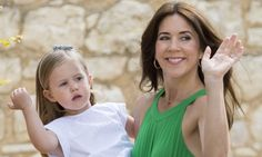 Princess Mary's three-year-old daughter perfects her royal wave