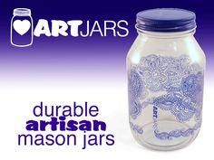 ARTjars! Gorgeous and durable artisan mason jars. project video thumbnail