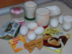 Pastane Usulü Profiterol İçin Gerekli Malzemeler Breakfast, Food, Amigurumi, Profile, Morning Coffee, Essen, Meals, Yemek, Eten
