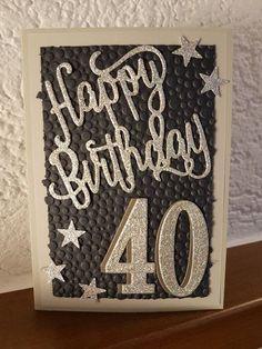#40.Geburtstag#Geburtstagskarte