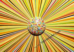 "Original Acryl Painting of the Artist Ralf Hasse; Titel: Sun-Popart  Original Acrylbild des Künstlers Ralf Hasse, titel ""Sonne-Popart #kunst #art #acrylbilder #acryl painting"